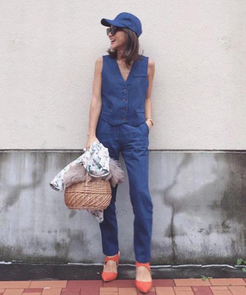 【SALE】cozue コラボ★パンツ/2カラー