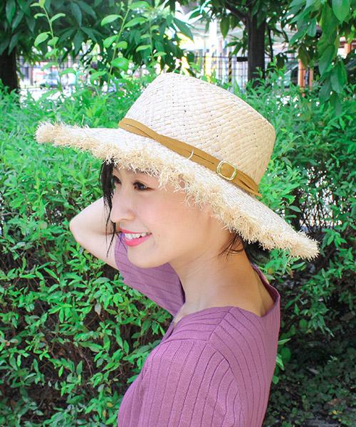 【SALE】マスタードリボンベルト  フリンジカンカン帽 /1カラー