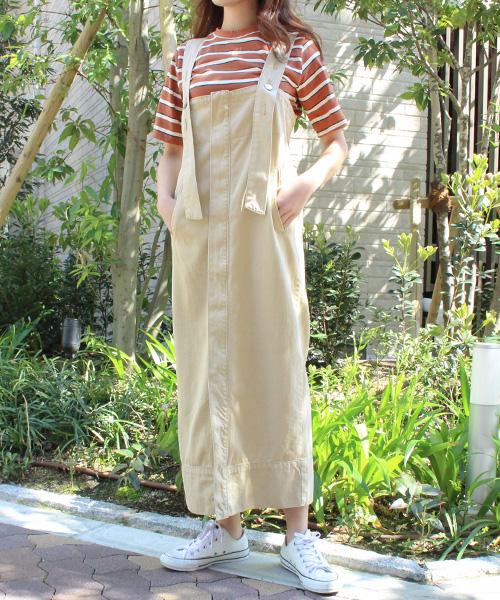 【SALE】3WAYチノスカート/1カラー