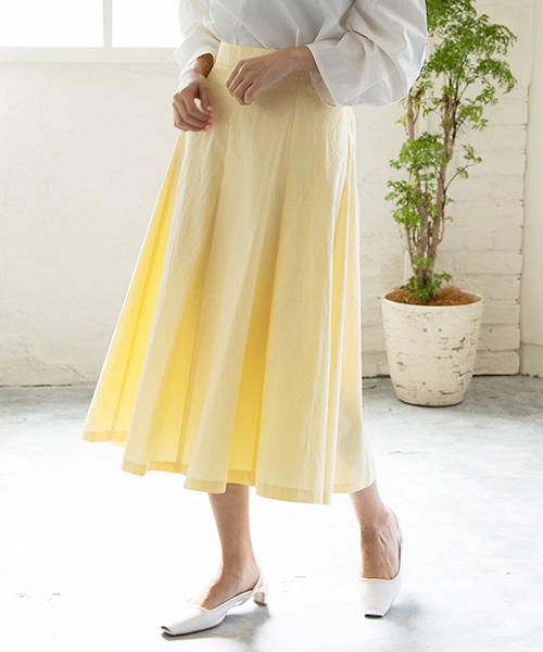 【SALE】ボリュームフレアスカート/3カラー