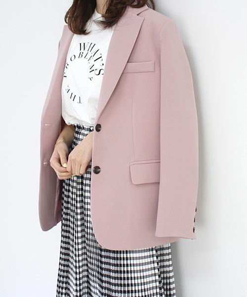 テーラードジャケット/3カラー