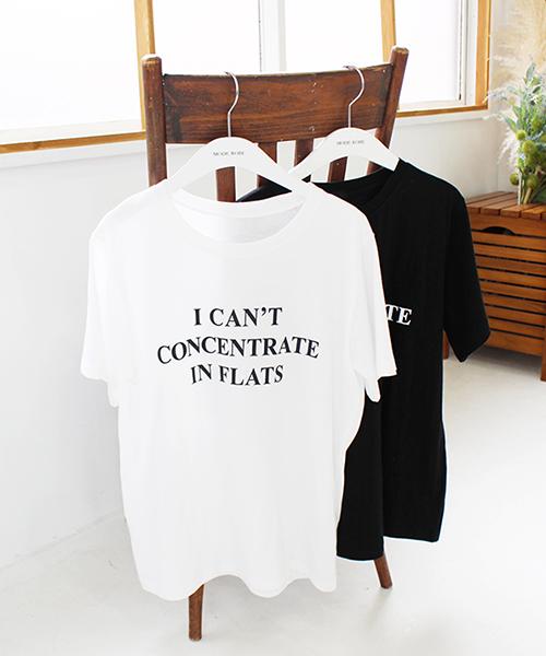 I CAN'T半袖Tシャツ/2カラー