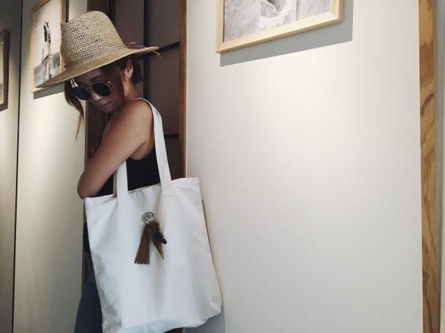 【SALE】ラビーチオリジナルトートバッグ