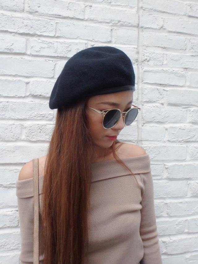 【SALE】ベレー帽/1カラー