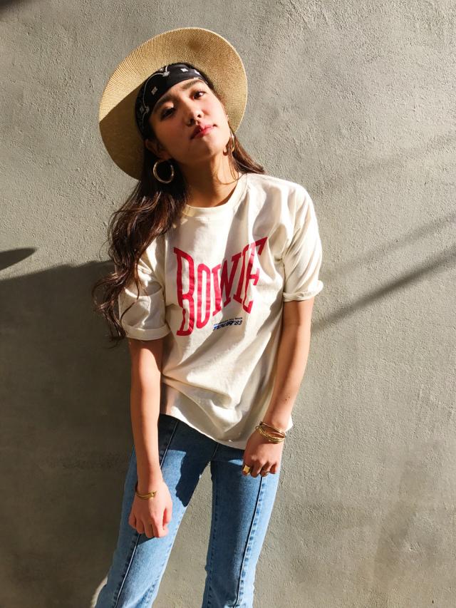 【SALE】BOWIETシャツ/1カラー