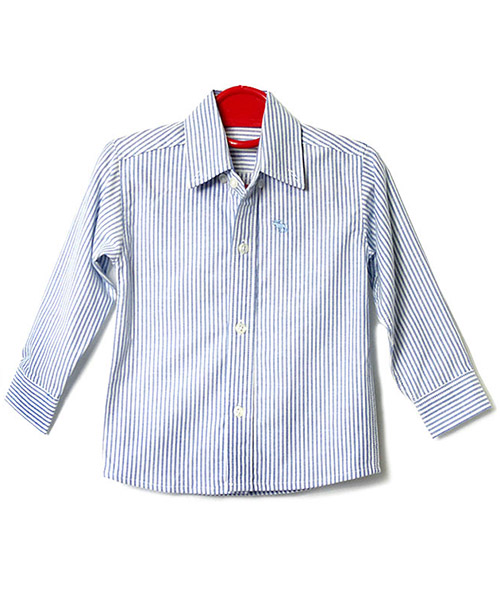 ≪Kids≫ストライプシンプルシャツ/1カラー