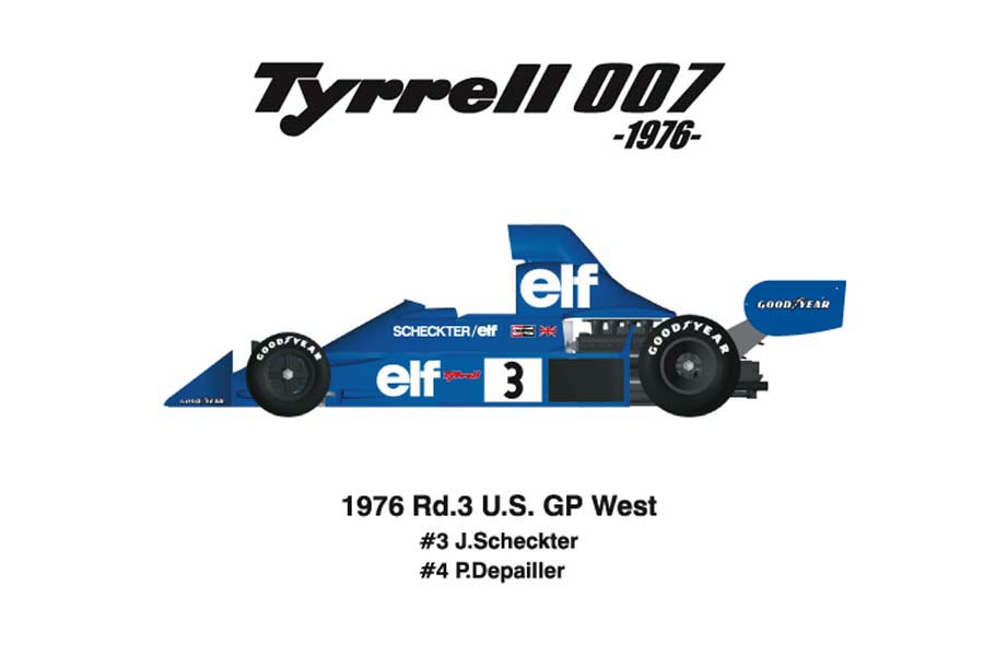 1/12scale Conversion Kit : TYRRELL 007