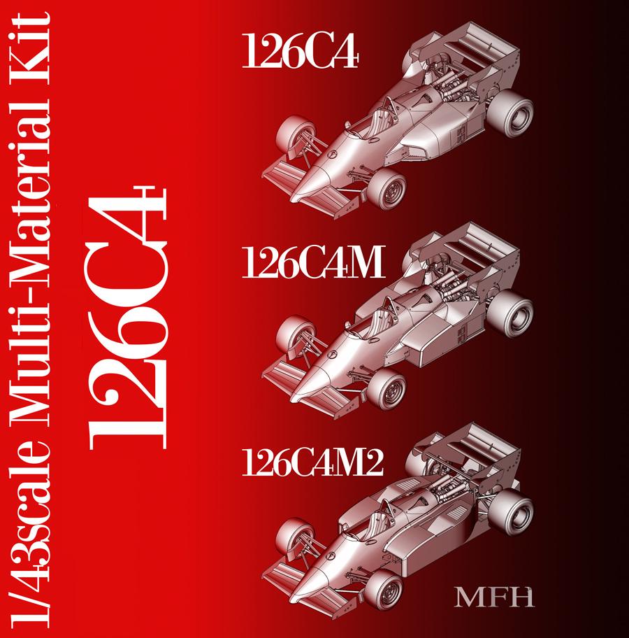 1/43scale Multi-Material Kit : 126C4 / 126C4M / 126C4M2
