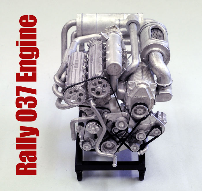 1/12scale Engine Kit :  Rally 037 Engine