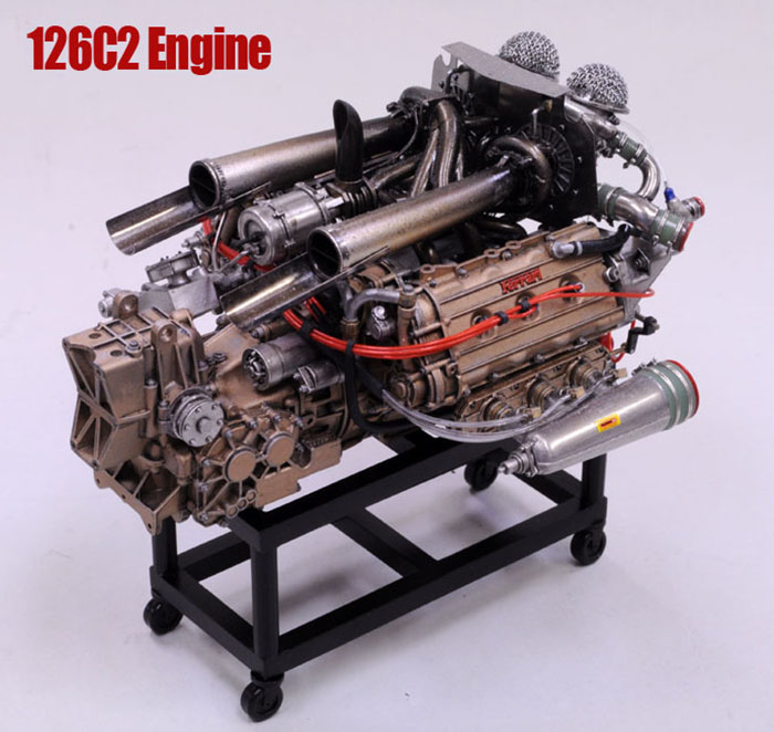 1/12scale Engine Kit :  126C2 Engine