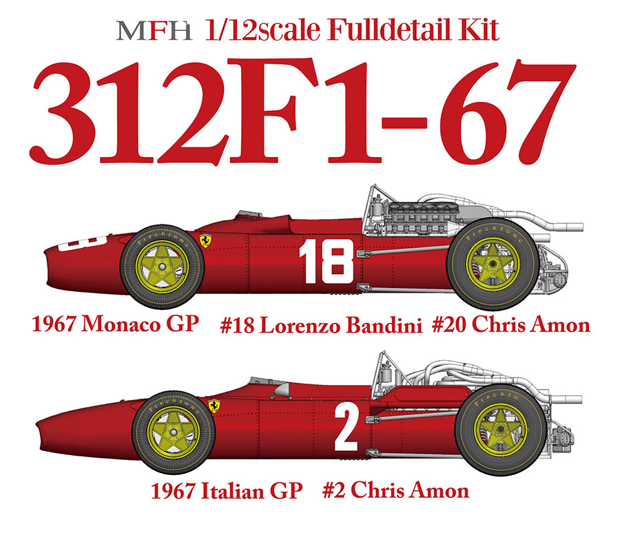 1/12scale Fulldetail Kit : 312F1-67