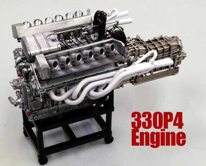 1/12scale Engine Kit :  330P4 Engine