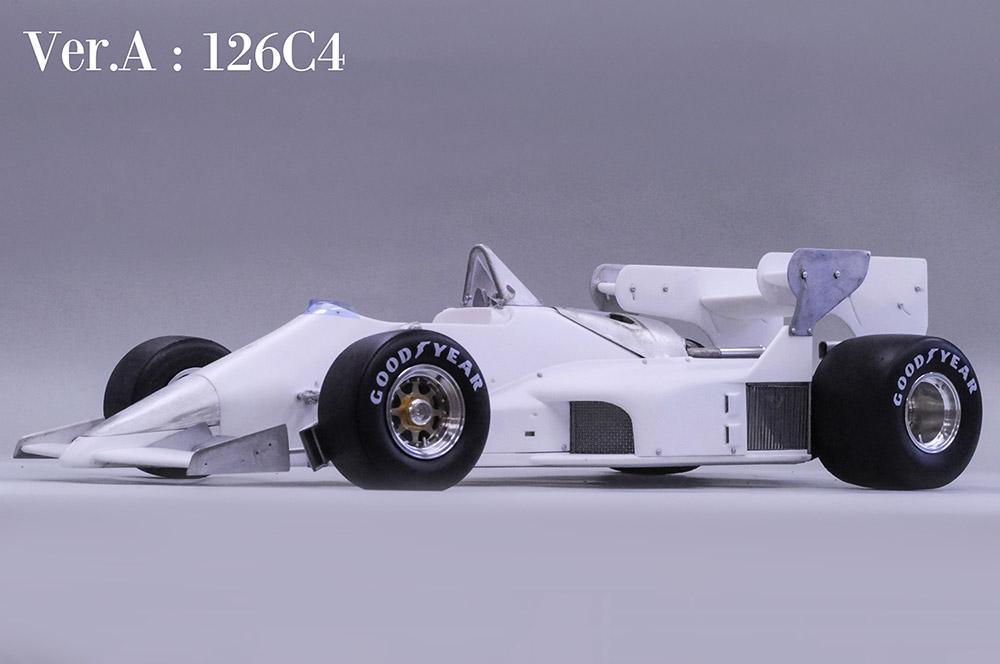 1/12scale Fulldetail Kit : 126C4/C4M/C4M2