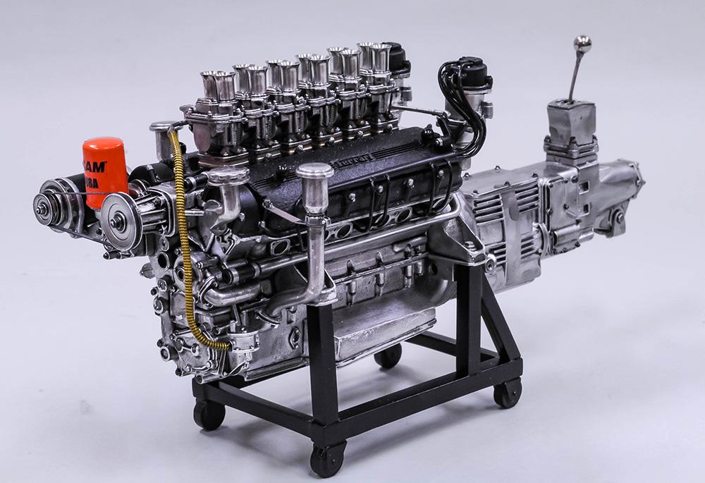1/12scale Engine Kit : 250 GTO Engine