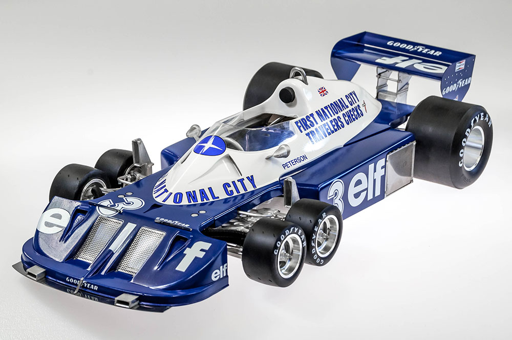 1/12scale Fulldetail Kit : Tyrrell P34 1977