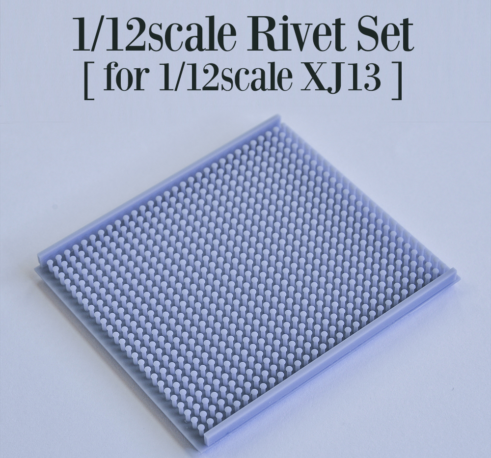 1/12scale Rivet Set [ for 1/12scale XJ13 ]