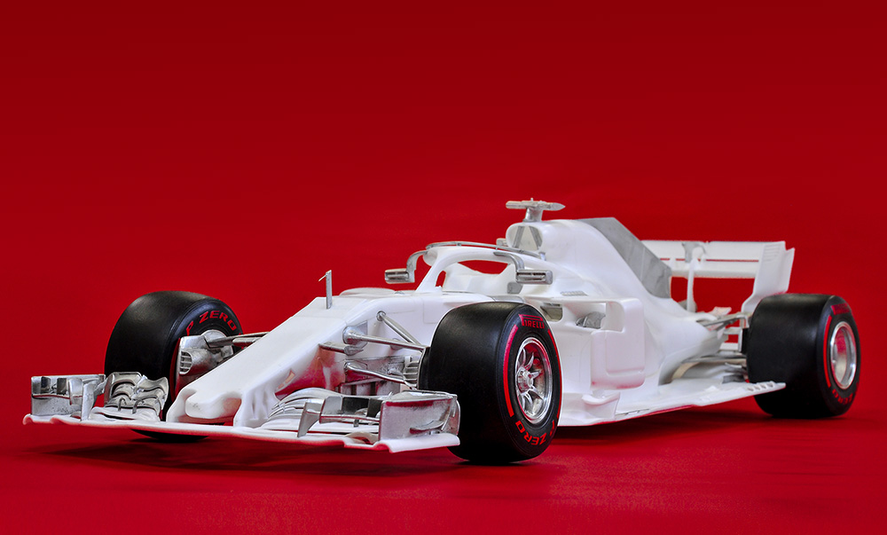1/12scale Proportion Kit : SF71H