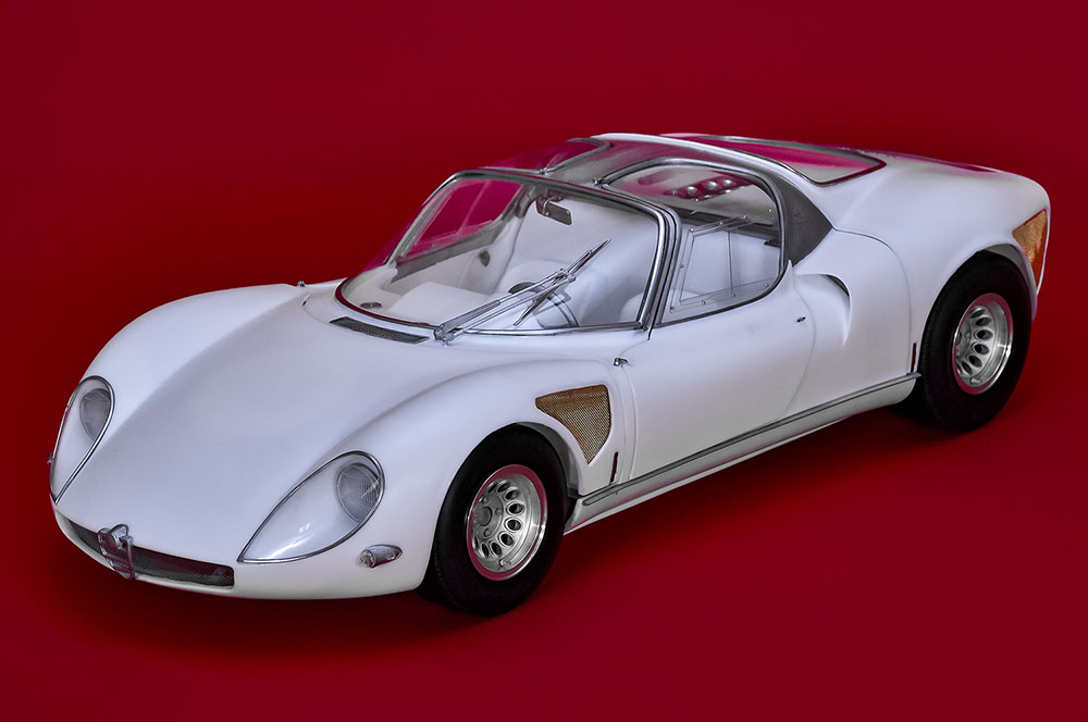 1/12scale Fulldetail Kit : Tipo33 STRADALE
