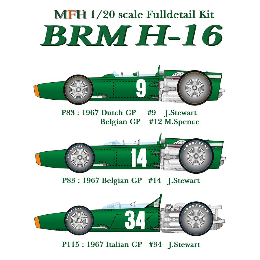 1/20scale Fulldetail Kit : BRM H-16