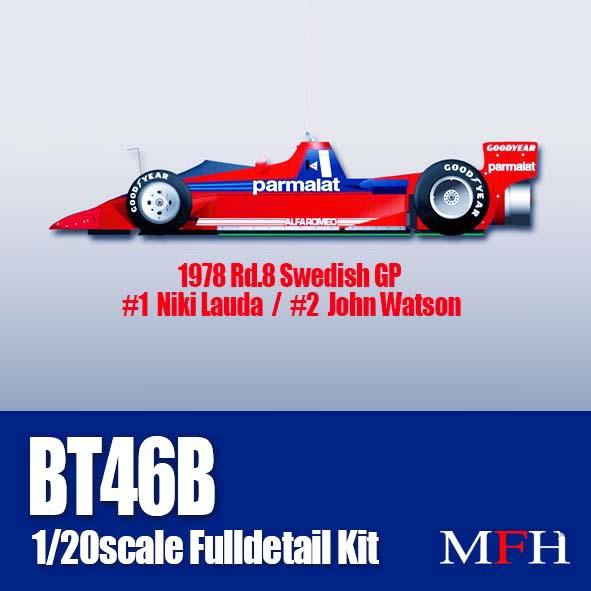 """1/20scale Fulldetail Kit : BT46B """"Fan Car"""""""