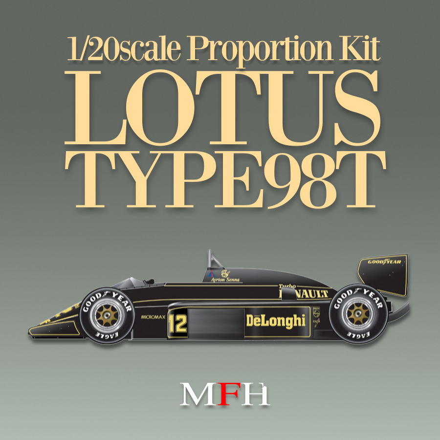 1/20scale Proportion Kit : LOTUS TYPE 98T