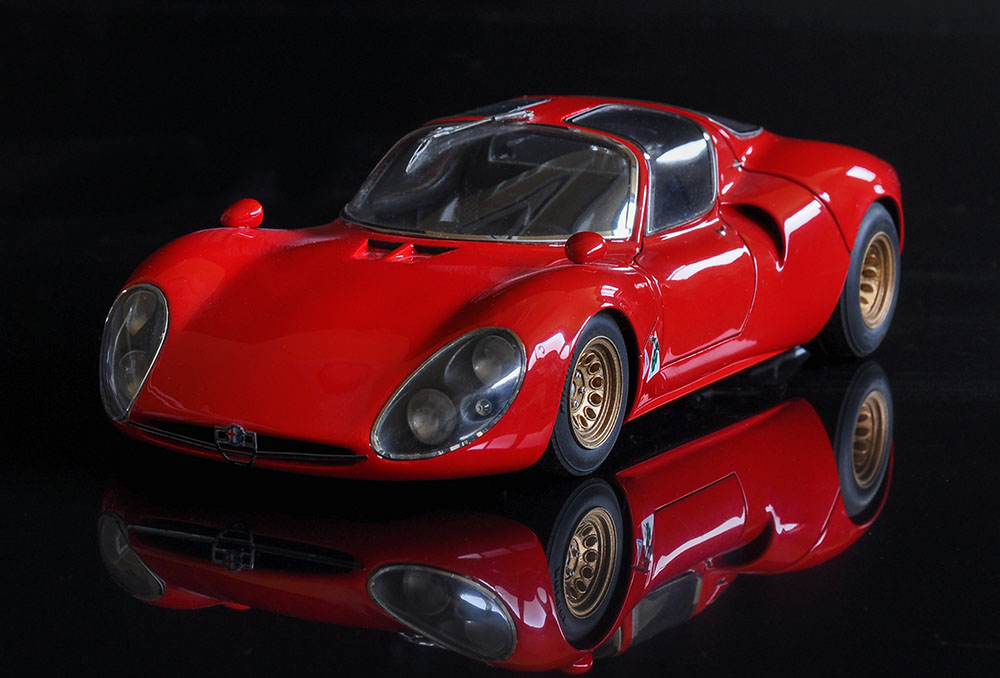 1/24scale Fulldetail Kit : Tipo33 STRADALE  [Early type]