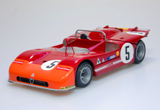 1/24scale Fulldetail Kit : Tipo33/3 [Late type]