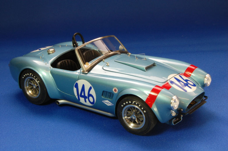 1/24scale Fulldetail Kit : Cobra 289 FIA Roadstar