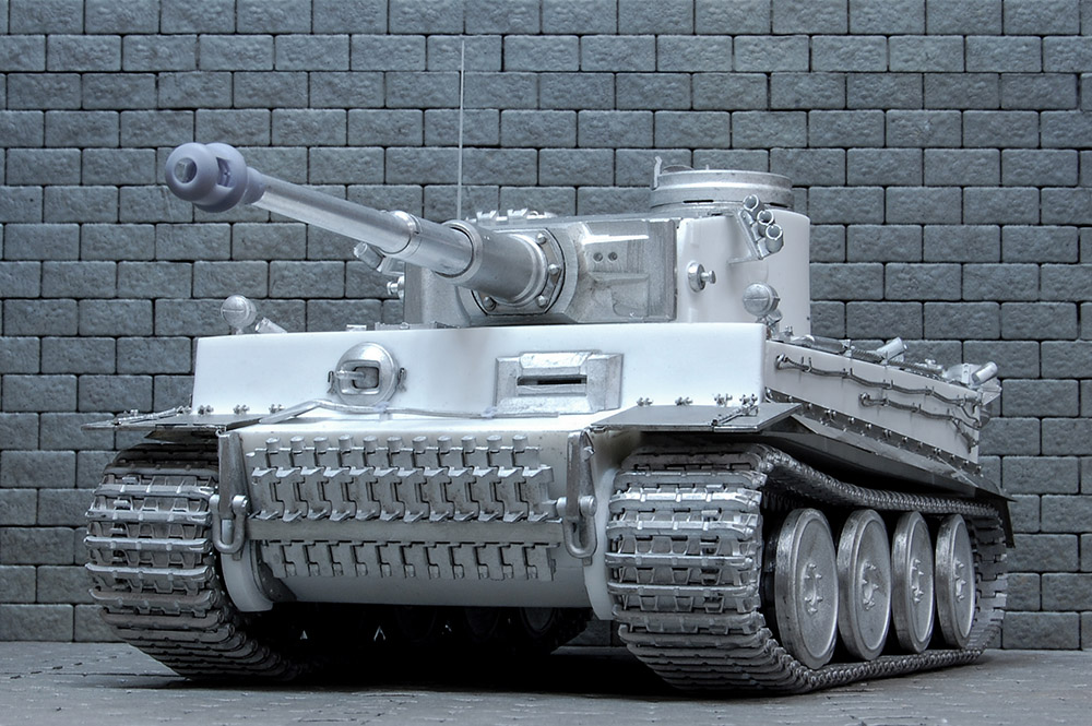 1/35scale Multi-Material Kit : ティーガーI 初期生産型 TIGER I Ausf.E Early Production