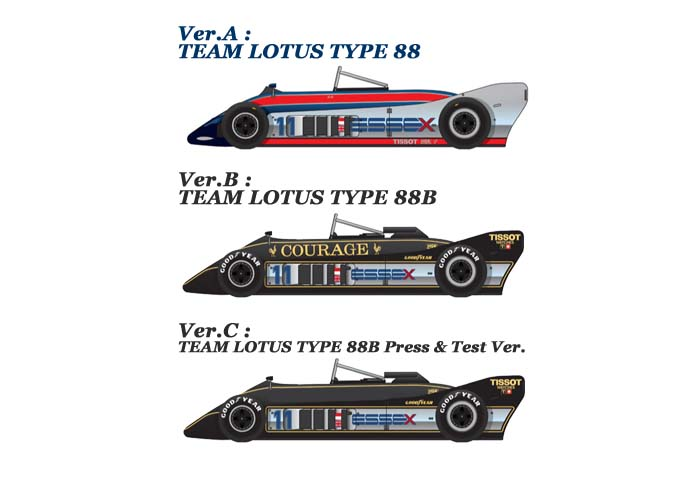 1/43scale Multi-Material Kit : LOTUS TYPE 88 / 88B
