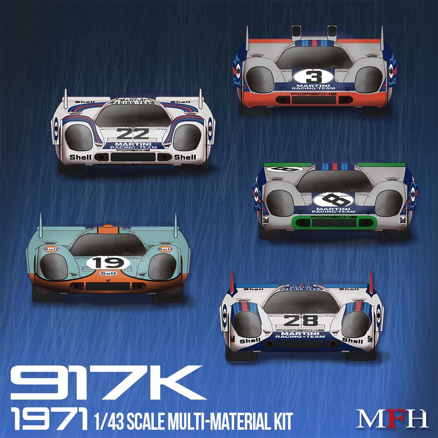 1/43scale Multi-Material Kit : 917K [1971]
