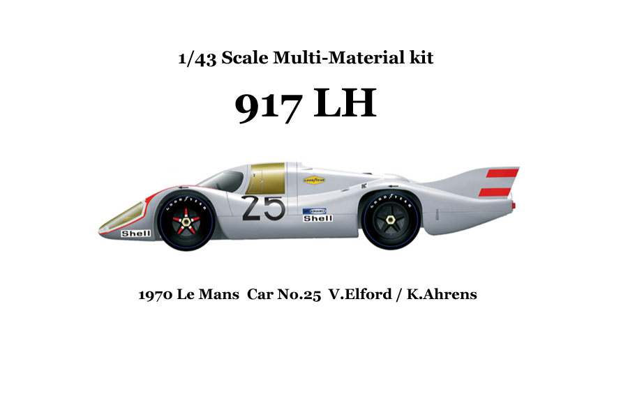 1/43scale Multi-Material Kit : 917LH '70