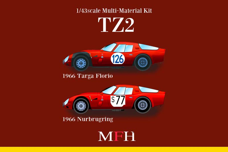 1/43scale Multi-Material Kit : TZ2