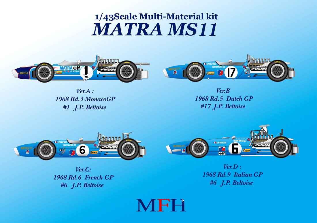 1/43scale Multi-Material Kit : MS11