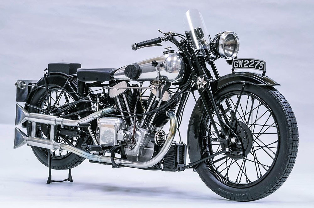 1/9scale Fulldetail Kit : Brough Superior SS100