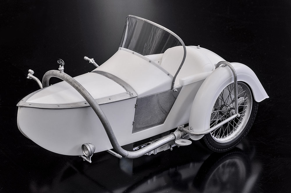 1/9scale Fulldetail Kit : Brough Superior AGS Sidecar