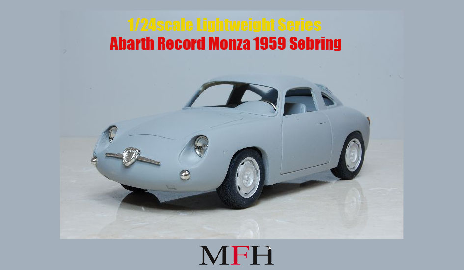 1/24scale Lightweight Series : Abarth Record Monza 1959 Sebring
