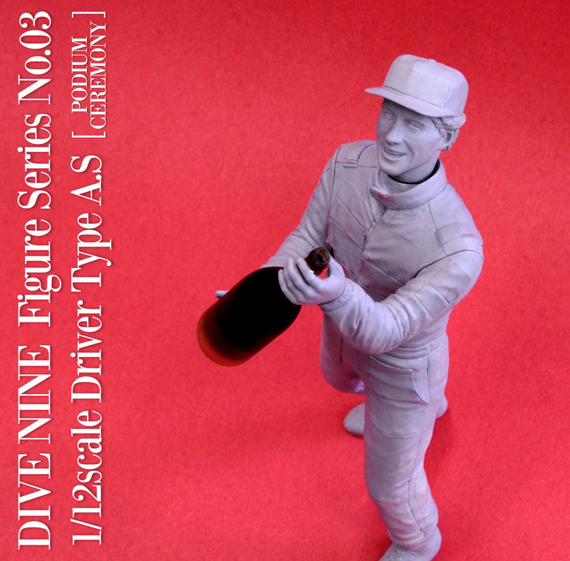 """DIVE NINE"" Figure Series No.03 : 1/12scale ""Driver Type A.S [PODIUM CEREMONY] """