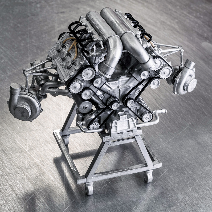 1/12scale Engine Kit Series : LOTUS TYPE 97T Engine