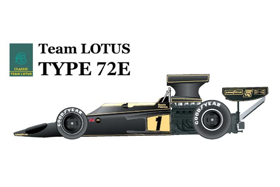 1/20 scale Fulldetail Kit : LOTUS Type72E