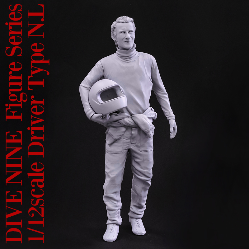 """DIVE NINE"" Figure Series : 1/12scale ""Driver Type N.L"""