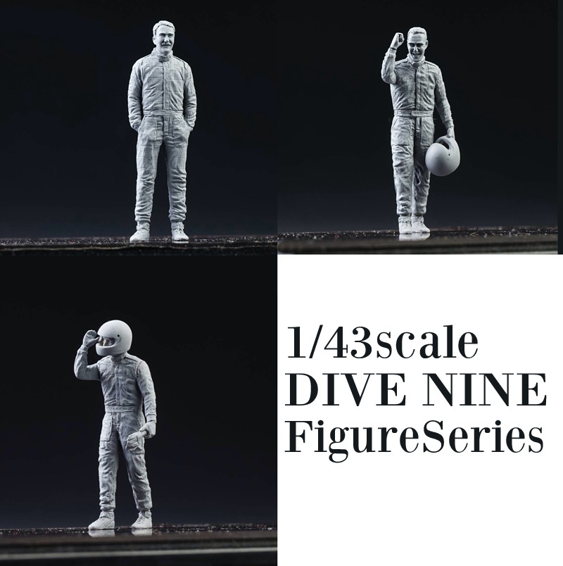 "1/43scale ""DIVE NINE"" Figure Series"