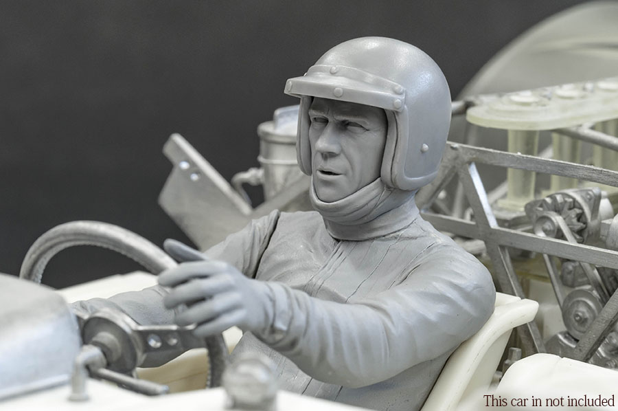 """DIVE NINE"" Figure Series : 1/12scale ""Driver Type S.M  [SITTING] """