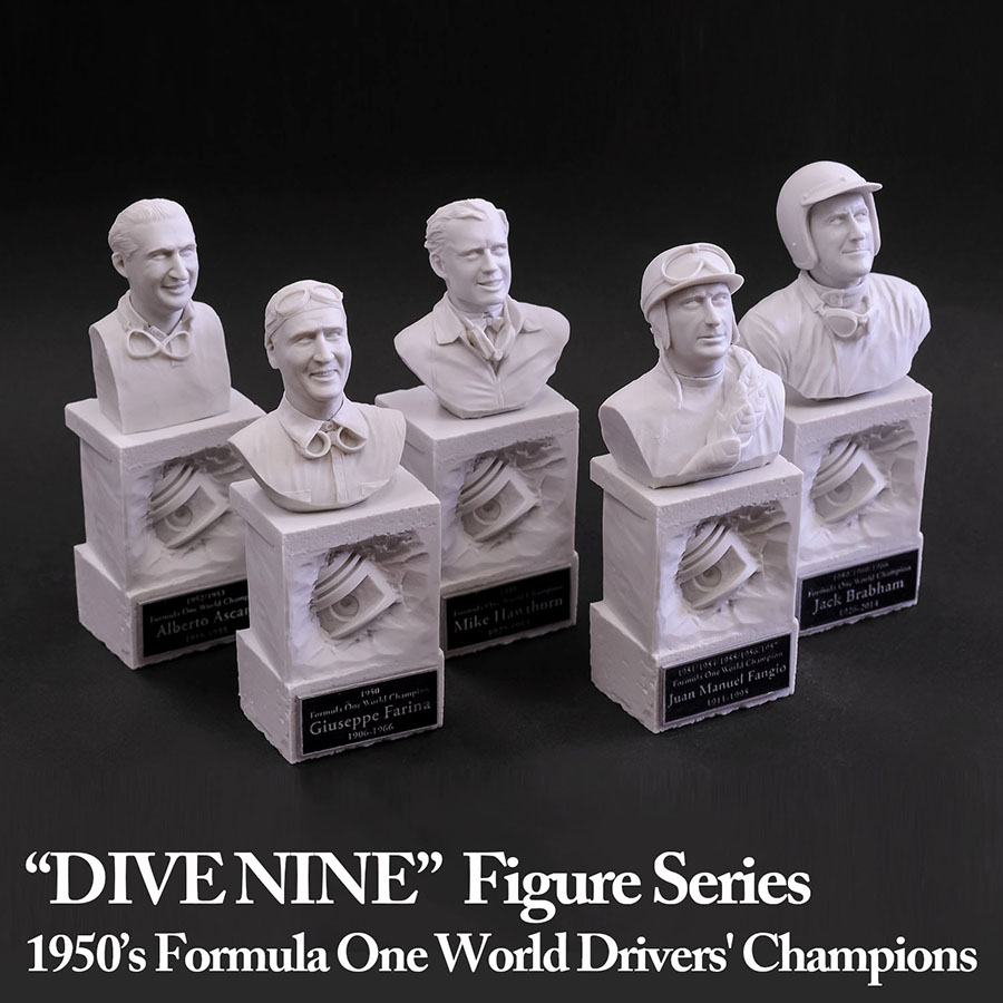 "1/12scale ""DIVE NINE"" Figure : F1 Champion Series [1950s]"