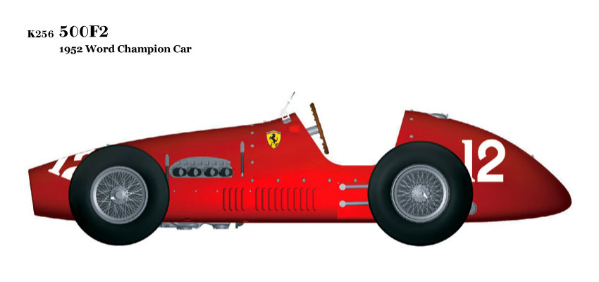 1/20scale Fulldetail Kit : 500F2 [1952 World Champion Car]