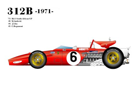 1/20scale Fulldetail Kit : 312B 1971