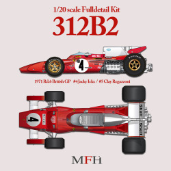 1/20scale Fulldetail Kit : 312B2