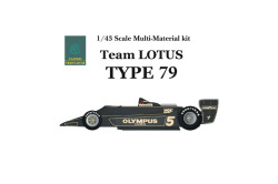 1/43scale Multi-Material Kit : LOTUS Type79 [ 1978 ]