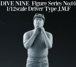 """DIVE NINE"" Figure Series No.01 : 1/12scale ""Driver Type J.M.F"""