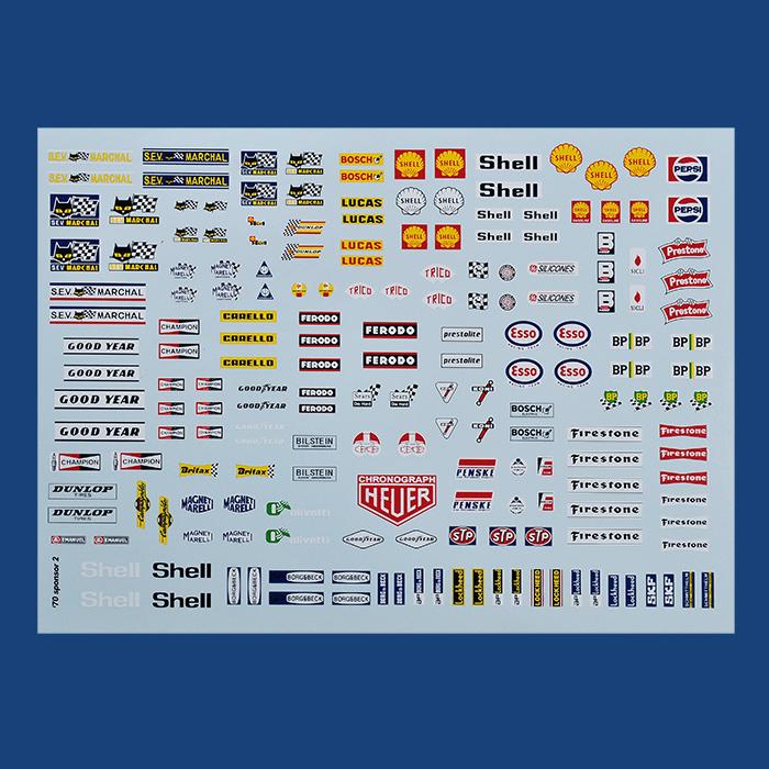 メーカーデカール [1970's]  Maker Decal [1970's]